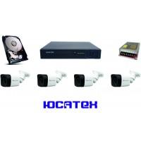 Комплект видеонаблюдения для загородного дома (AHD) №1