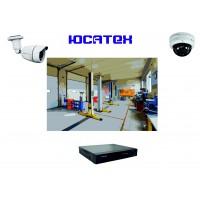 Комплект видеонаблюдения для автосервиса (IP) №6
