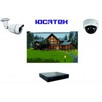 Комплект видеонаблюдения для загородного дома (IP) №4