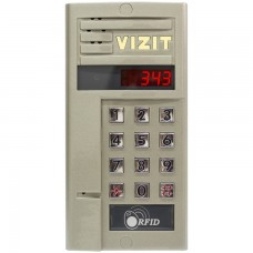 БВД-343RCPL блок вызова домофона Vizit
