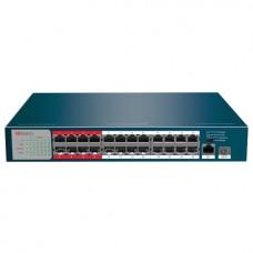 HiWatch DS-S2624P(B) PoE коммутатор